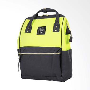 Anello AT-B0193A Polyester Tas Ransel Backpack - Yellow Dark Gray