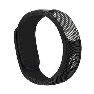 Para'Kito Mosquito Repellent Wristband - Black