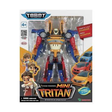 YOUNG TOYS Tobot Mini Tritan 3 Cars ... ot Mainan Anak [Original]