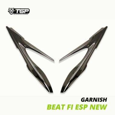 harga Variasi Garnish Aksesoris Lampu Depan Motor beat fi esp new Black Blibli.com