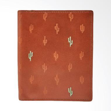 Fossil - Leather - Passport Case - Brown - Passport Case - MLG0464-200