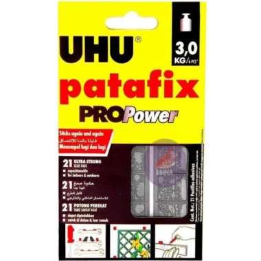 harga Jual UHU PATAFIX ProPower 21 GLUE PADS  Tack It Glue Lem Dekorasi Murah Blibli.com