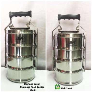 harga Rantang 3 susun stainless (Food Carrier) Multicolor Blibli.com