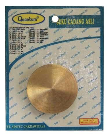 harga Sparepart Kompor Gas LPG Quantum Burner Kuningan M@40 multicolor Blibli.com