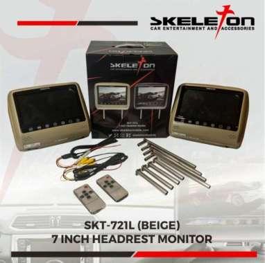 harga Headrest monitor 7 inch Skeleton - Hitam MULTICOLOR Blibli.com
