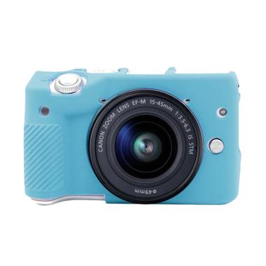 Godric Silicone Case for Canon EOS M3 Mirrorless - Biru