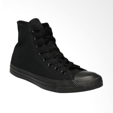 Converse CT AS Canvas HI Mono Sepatu Pria - Black