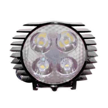 AJV Lampu Sorot LED 4 Mata Sisik - Hitam