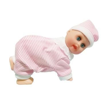 Jual Maxplus Dancing Baby Boneka Bayi Garis Salur - Pink Terbaru - Harga  Promo Desember 2018 b6852369db