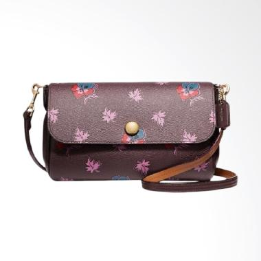 ... france coach reversible crossbody in wildflower print coated canvas  sling bags 6fa00 e467c f36047ffba