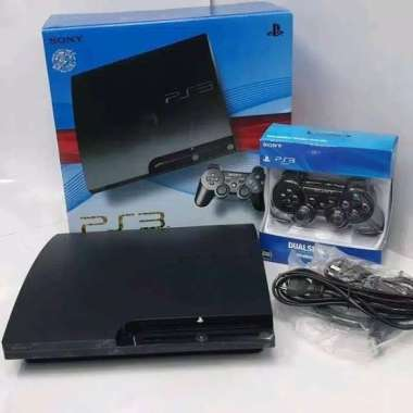 harga Sony PS 3 slim cech 25xx [ HDD 250GB ] FULL GAME + FREE 2 STIK WIRELLES Blibli.com