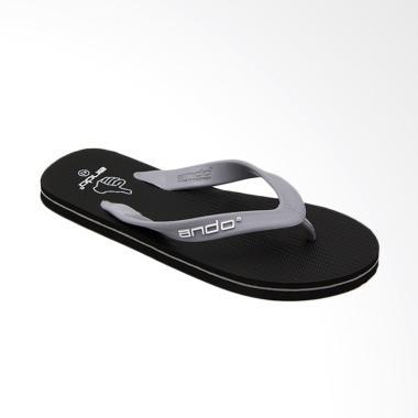 Ando Hawaii Like Sandal Jepit Pria - Grey