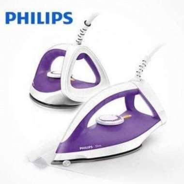 harga Dijual Setrika Philips Diva GC122 Philips Dry Iron Diva GC-122 Hijau  Ungu Murah Blibli.com