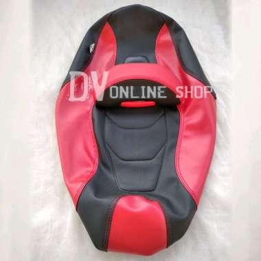 harga Kulit jok custom YAMAHA AEROX 155 aksesoris motor merah Blibli.com