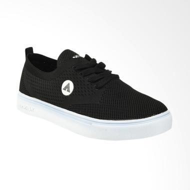 Airwalk Kurtis Sepatu Sneaker Pria - Black 125ef9d90e