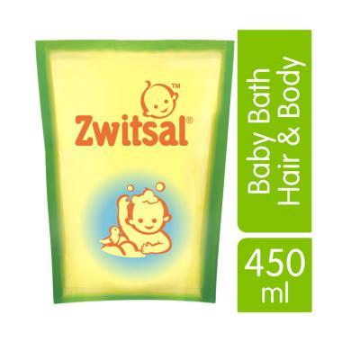 Zwitsal Baby Bath Hair & Body Sabun ... [450 mL/ 2 Pcs/ 21152892]
