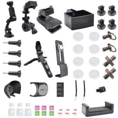 harga Set of 43 Metal Tripod Backpack Clip Accessories for DJI OSMO Pocket 2 Blibli.com