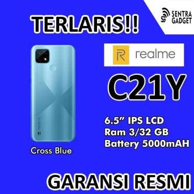 harga Kamis Gadget - HP REALME C21Y Ram 3GB Rom 32GB 3/32 GB BLUE Blibli.com