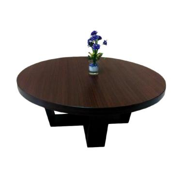 Evans Table Gallery Meja Lesehan Unik - Brown Mocha [Jumbo Size]