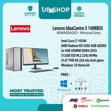 harga Lenovo IC 5 14IMB05 - A2ID - PC Desktop - [Intel Core i7-10700 / 8GB DDR4 / 512GB SSD / 23.8