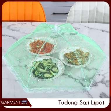 harga Tudung Saji Lipat Model Payung Renda Penutup Makanan Jaring Anti Serangga BIRU Blibli.com