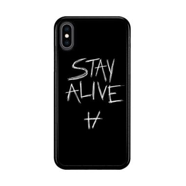 harga Flazzstore Twenty One Pilots Stay Alive X4419 Premium Casing for iPhone XS Blibli.com