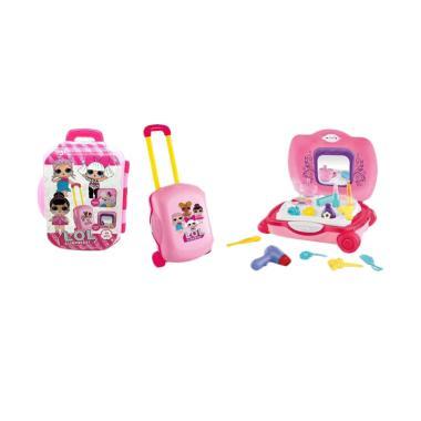 harga LOL Suprise DN875LO-3 Make Up Trolley Suitcase Mainan Anak Blibli.com