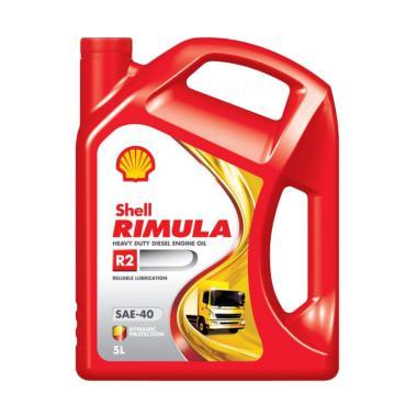 Shell Rimula R2 Oli Mesin Diesel 5 L Gratis Jasa