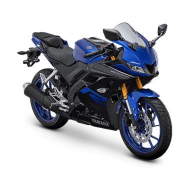 harga Yamaha All New R15 155 VVA Sepeda Motor 2021 (Striping Baru) (tidak sesuai gambar) Racing Blue JABODETABEK Blibli.com
