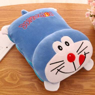 Oem Doraemon Bonmut Boneka Bantal Selimut 100 X 150 Cm