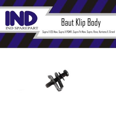 harga IND Onderdil Baut Klip Body Motor for Supra X 125 New/ Supra X PGMFI/ Supra X 125/ Supra X/ Supra/ Supra Fit New/ Supra Fit/ Revo/ Karisma X/ Grand Blibli.com