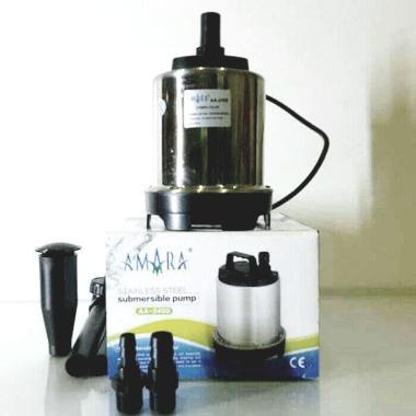 harga Pompa filter kolam ikan air mancur dan hidroponik amara aa 2400 stainless steel 01 Silver Blibli.com