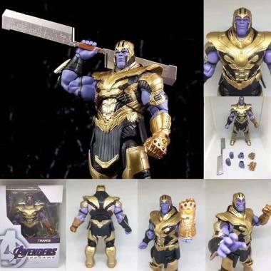 harga OEM Shf Thanos End Game Battle Armor Version Marvel Action Figure Blibli.com