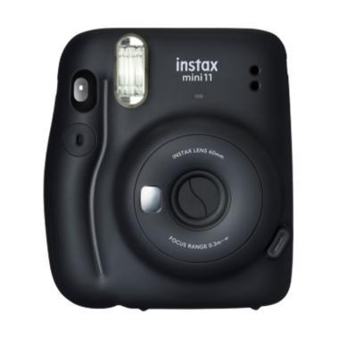 harga Fujifilm Instax Mini 11 Kamera Pocket Charcoal Grey Blibli.com