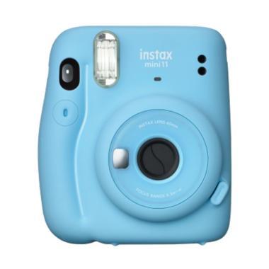 harga Braga Photo Video - Fujifilm Instax Mini 11 FREE 1 Film Sky Blue Frame Sky Blue Blibli.com