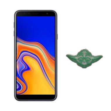 harga Samsung Galaxy J4+ Smartphone [16 GB/ 2 GB] + Star Wars Yoda Cable Bites - Black Blibli.com