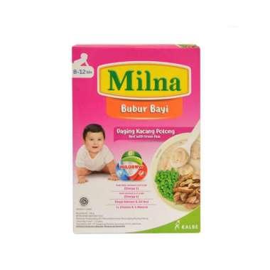 harga Milna Bubur Bayi 8-12 Bulan Rasa Daging Kacang Polong [120gram] Blibli.com