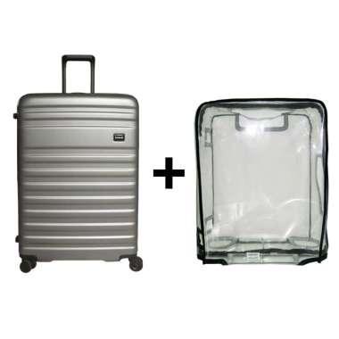 Bundling Bagasi Bidara Koper Hardcase Large/29 Inch + Luggage Cover Large