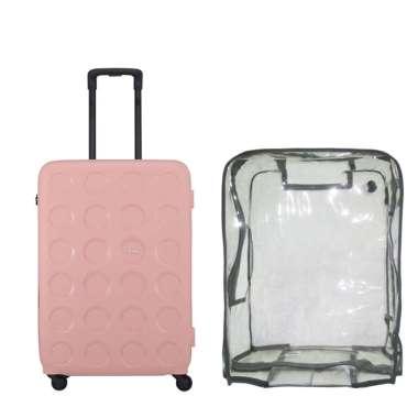 Lojel Vita 2 Koper Hardcase [Medium/26 Inch/ Bundling] + Luggage Cover Medium