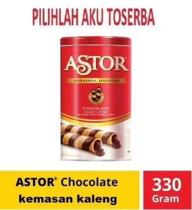 Astor Double Coklat 330 gr - Astor Kaleng - Astor Coklat Kaleng
