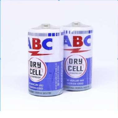 harga Baterai ABC Biru R14 Sedang (2pcs) Blibli.com