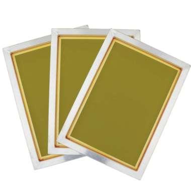 harga 3x 120 Mesh Silk Screen Printing Aluminium Frame 11x14