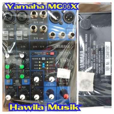 harga Mixer YAMAHA MG 06XU MG06XU MG 06 XU MG06 XU ORIGINAL Mixing Console YAMAHA MG06XU ORIGINAL Garansi Resmi Blibli.com