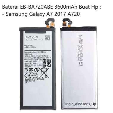 harga Original Baterai EB-BA720ABE Buat Handphone Samsung Galaxy A7 2017 Blibli.com