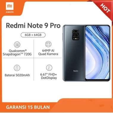 XIAOMI Redmi Note 9 Pro 6GB/64GB Garansi Resmi bukan Xiaomi Redmi Note 9