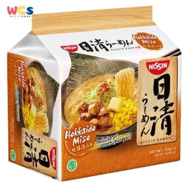harga Nissin Ramen Hokkaido Miso 106 gr x 5 pack Blibli.com