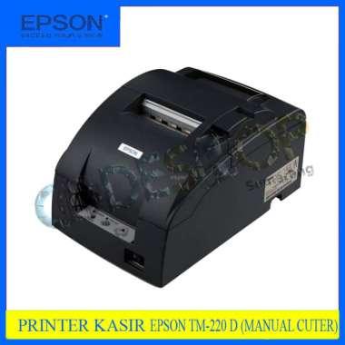 harga Printer POS / Kasir Epson TM-U220 TMU220 TMU 220 Dot Matrix 9-pin - NEW abu-abu Blibli.com