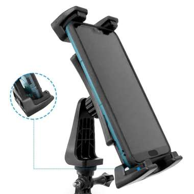 harga Rotatable Tablet Phone Tripod Monopod Clamp for iPad Air/Mini/Pro More Blibli.com