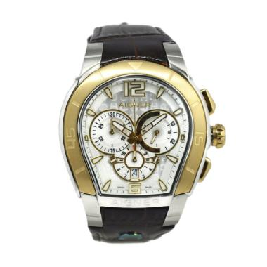Aigner A58514 Palermo Jam Tangan Pria - Coklat Ring Gold
