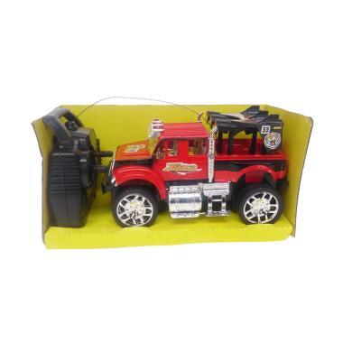 TLP Mobil Tiger Jeep Mainan Remote Control - Merah
